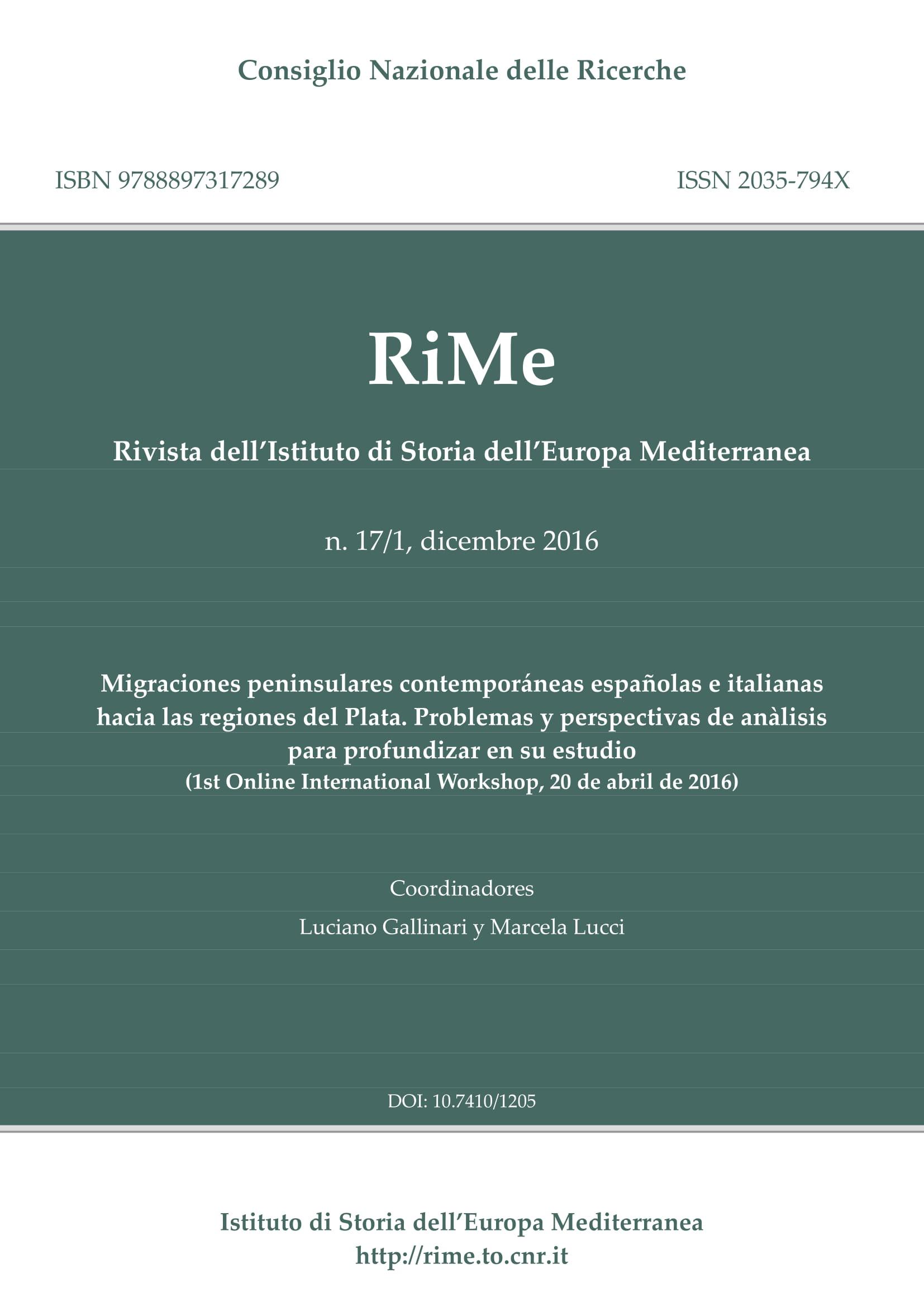 Vol. 17/1 (December 2016) cover